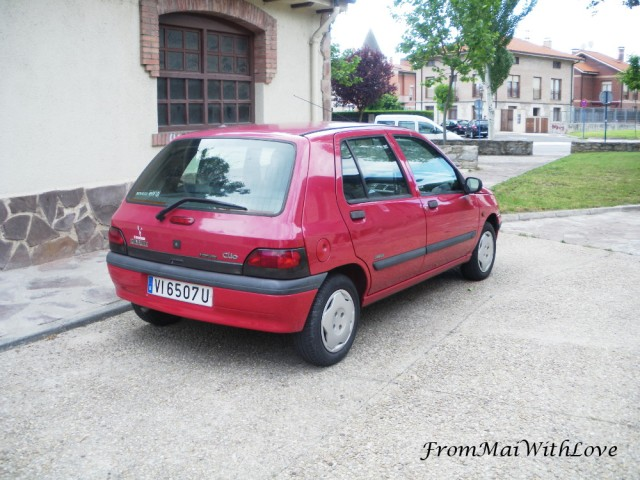 First car - Renault Clio