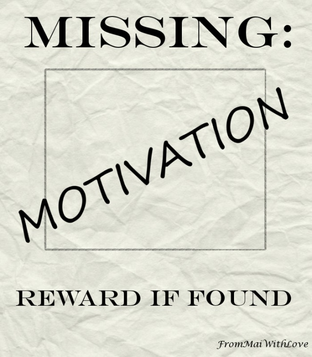 Missing motivation. Reward if found