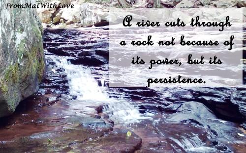 River persistence