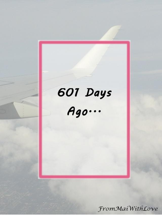 601 Days Ago...