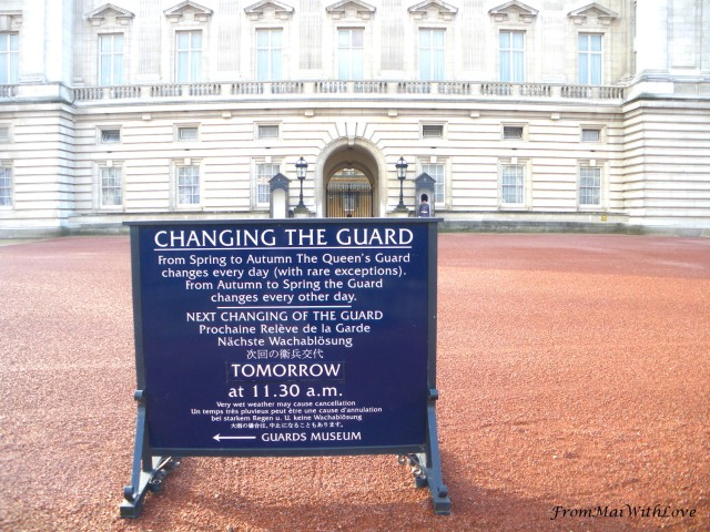 Buckingham Palace London Changing Guard