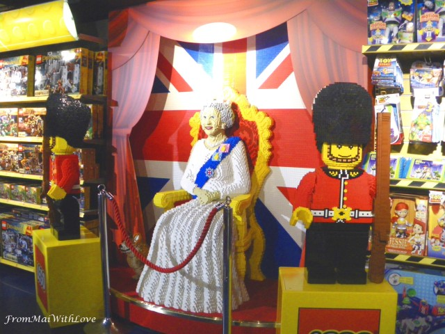Lego side Hamley's toy store London
