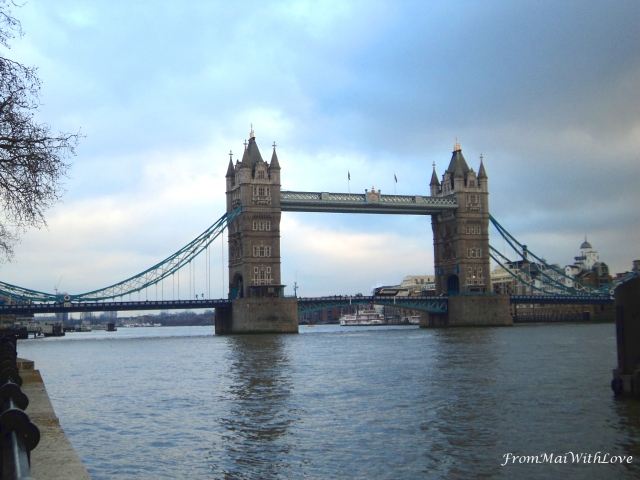London Tower Bridge Thamesis