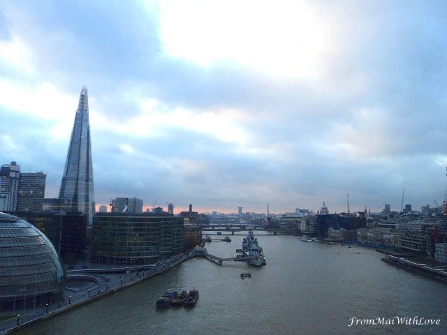 London Tower View Sunset