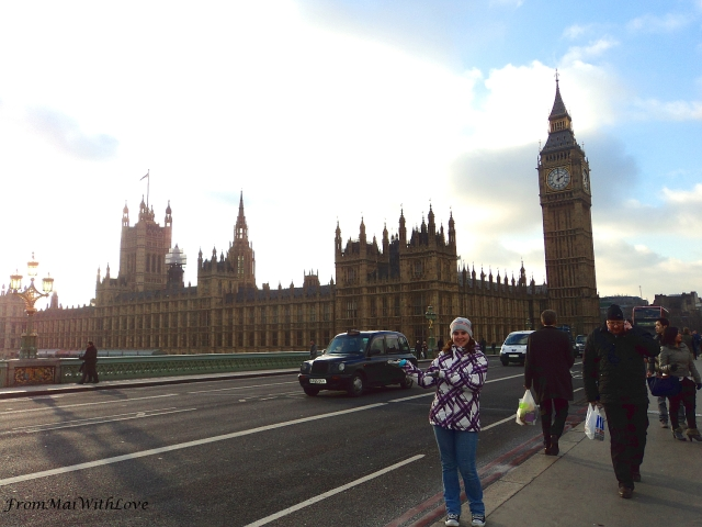 Me at London Parliament