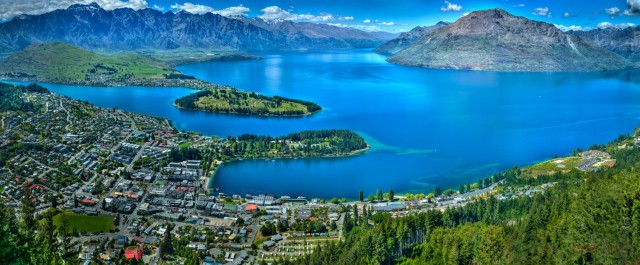 Queenstown Bay, New Zealand