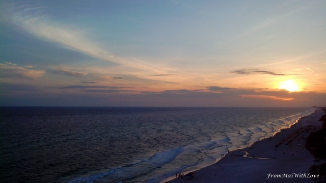 Sunset in Panama City Beach, FL