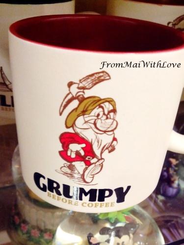 Grumpy before coffee mug