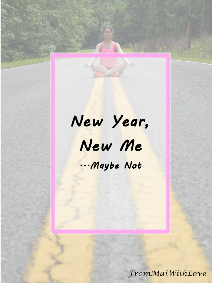 new year new me New year, new me is a phrase you often hear in the uk on the first of january it is very common to start a new year's resolution on this day.