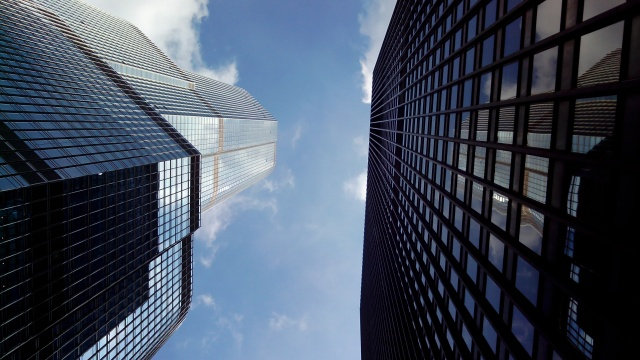 Skyscrappers in Chicago