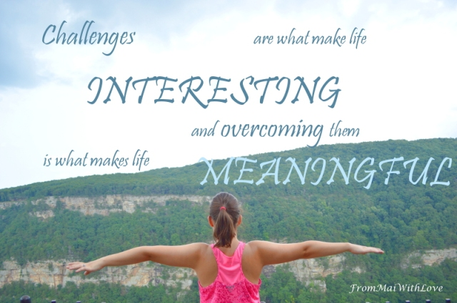 Challenges life interesting overcoming meaningful