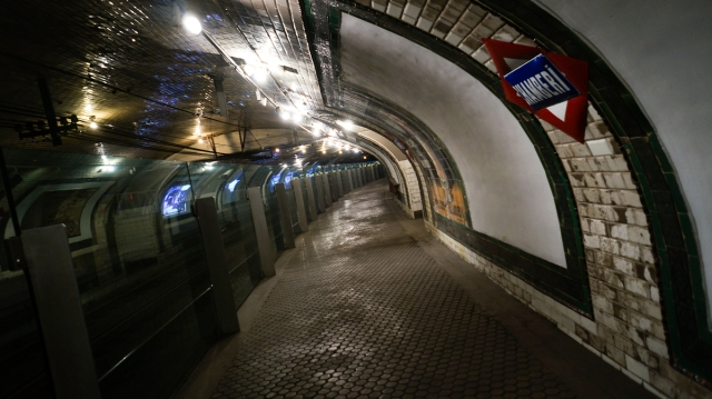 chamberi metro station