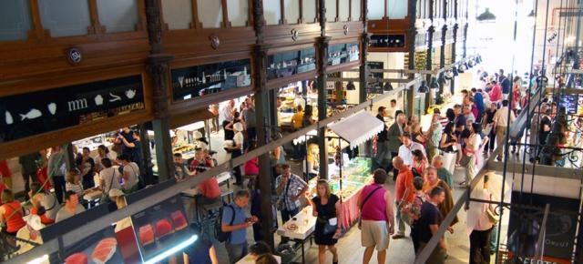 mercado san miguel interior