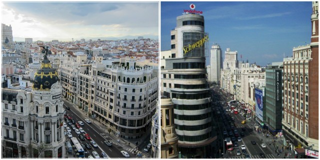 Panoramic views Circulo de Bellas Artes + El Corte Inglés