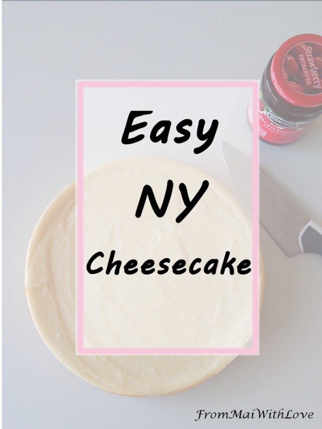 This recipe is very easy to follow and put together. It doesn't take much time either, although it is better if cooked for the next day so the cake rests in the fridge overnight. I wouldn't blame you if you couldn't resist the temptation and eat some when it cools off, though! Haha